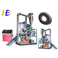 Buy cheap Reduce Wastage Synthetic Rubber Tire Grinder , PEC Fine Powder Rubber Grinding Equipment from wholesalers