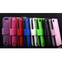 Buy cheap ipod touch 5 itouch 5 flip wallet leather case cover piel capa funda hulle coque Custodia from wholesalers