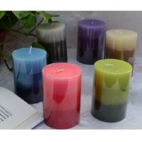 Buy cheap Layered Color Pillar Candle from wholesalers