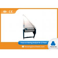 Buy cheap Automatic Unloading Chain Plate Conveyor 1000KG Capacity Flat Top Chain Conveyor from wholesalers