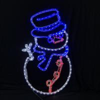 Buy cheap 2019 Christmas newest arrival LED rope light motif lights IP55 garden outdoor commercial / household decoration lighting from wholesalers