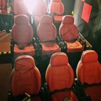Buy cheap Excellent Design Electric 5D Theater Seats For Mini Cinema Red Color from wholesalers