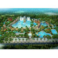 Buy cheap Amusement Park / Water Theme Park Concept Design Customized Size from wholesalers