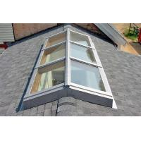 China Skylights Roof  Window Tempered Glass Panel Size Customized No Holes on sale