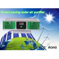 Buy cheap OEM 1 W Green Silver Eco-friendly Car Solar Air Purifier with Negative Ions from wholesalers