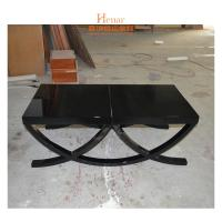 Buy cheap Modern Rectangle High Glossy Wooden Coffee Table Black Or Customized from wholesalers