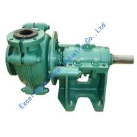 Buy cheap Types of abrasion and corrosion resistant rubber lined slurry pumps EHR-3D from wholesalers