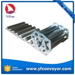 Container Floor Gravity Unloading Roller Conveyor