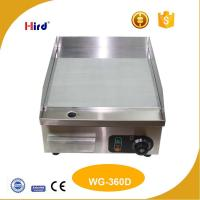 Wholesale Small electric griddle Kitchen griddle Cast iron grill plate Professional cooking equipment China products online WG360D from china suppliers