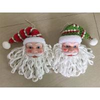 Santa claus heads hanging christmas decor Manufactures