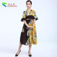 YIZHIQIU latest design mujer vestidos
