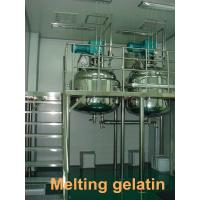 Buy cheap 450L - 1000L Stainless Steel Gelatin Melting Tank / Water Sealed Vacuum Pump from wholesalers
