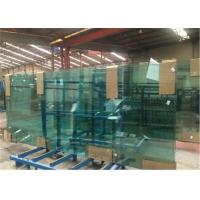Buy cheap 8mm/10mm/12mm Thick Tempered Safety Glass Door with Grooves / Holes from wholesalers