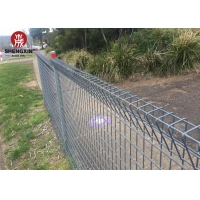 Buy cheap A252 RAL 7016 Dark Grey BRC Mesh Fence 1.8mx2.4m Roll Top Weld Mesh Fencing from wholesalers
