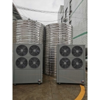 Wholesale 11-100KW 220 / 380 V Hybrid Water Heater , Air Heat Pump Water Heater 4.0 Cop from china suppliers