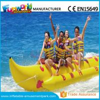 Buy cheap Banana Boat Inflatable Water Toys / Water Towable Tube with Customized Size from wholesalers