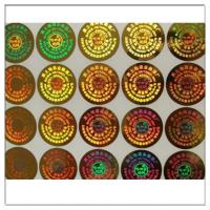 Wholesale High Quality Customized Self Adhesive Anti-fake Label 3D Hologram Sticke,Customized Anti-fake Metal PET Hologram Sticker from china suppliers