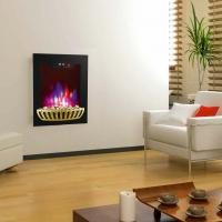 Buy cheap wall mounted fireplace wall hang real flame effect,colorful style,LED lights,Red,Orange,Blue,EF591/EF591K,space heater from wholesalers