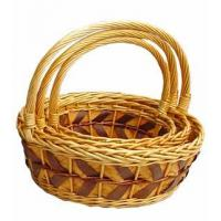 Buy cheap Willow Flower Basket from wholesalers