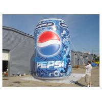 Wholesale Giant Pepsi Cola Inflatable Bottles / Cans Customized Size For Advertisements from china suppliers