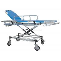 Buy cheap Manual Patient Transfer Trolley , Ambulance Emergency Stretcher Trolley from wholesalers