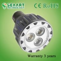 Buy cheap High Capacity Energy Saving AC90-260V GU10-9W LED Spot Lamps With 3 years Warranty from wholesalers