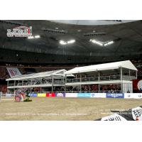 Buy cheap Sport Venue Event Exhibition Double Decker Tents Clear Span Fireproof from wholesalers