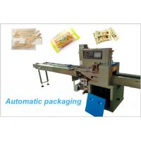 Buy cheap 320 Type Pillow Pack Machine , Food Grade Moon Cake Packaging Machine from wholesalers