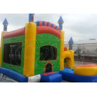 Buy cheap Safety Inflatable Jumping Castle / Magic Castle Bounce House 0.55mm PVC from wholesalers