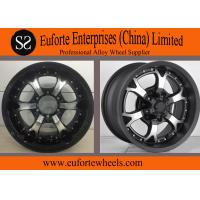 Buy cheap Strong Spokes SUV 16 x 8 off road wheels , 15 Inch Alloy Wheels from wholesalers