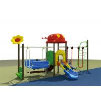 Buy cheap Sports Play Game Outdoor Child Swing Set Combination Slide Playground Equipment For Kids from wholesalers