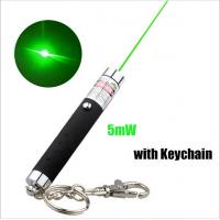 Buy cheap 5mw Keychain Laser Pointer / Green Laser Keychain With Action Figure from wholesalers