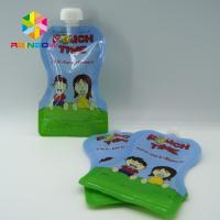 Custom Reusable Liquid Stand Up Liquid Spout Bags Baby Food Packaging Bag Manufactures