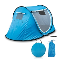 Buy cheap 1 To 2 Person Pop Up Camping Tent With Mesh Windows from wholesalers