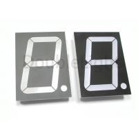 Buy cheap Black / Gray Surface Single Digit LED Display 4.00'' Super Bright Industrial Standard Size from wholesalers