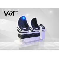 Buy cheap Excited Double Seats 9D VR Egg Chair High Configuration Virtual Reality Simulator from wholesalers