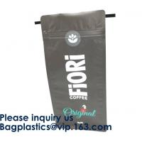 Buy cheap Food Industrial Use And Moisture Proof Feature Resealable Zipper Kraft Paper Food Packaging Bags Doypack Pouch bags from wholesalers