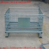 Buy cheap European standard wire mesh container cage from wholesalers