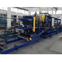 Buy cheap Thickness 40-320mm Rockwool Sandwich Panel Machine High Speed Forming With 3KW Power from wholesalers