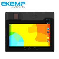 Buy cheap Rugged Android Tablet PC with Fingerprint Scanner For Biometric SIM Card Registration, EKYC from wholesalers