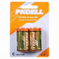 China Alkaline Battery with High Power Consumption and 1.5V Nominated Voltage on sale