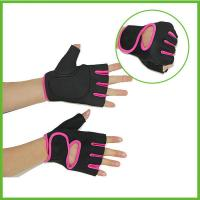 Buy cheap Sport product black neoprene lifting gloves for women from wholesalers
