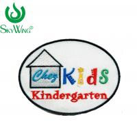 Buy cheap Custom Cartoon Fabric Sew On Cloth Badges Fashion For Kid Clothing from wholesalers