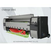 Buy cheap Digital Industrial Inkjet Flex Banner Printer Seiko 508GS Head Challengr 3286E from wholesalers