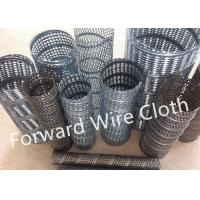 Round Hole Perforated SS 316 / 304 Carbon Steel Spiral Welded Tube Galvanized Manufactures