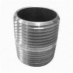 Buy cheap MSS Standard thread NPT, Socket Weld Steel Pipe Nipples Fittings 6000 LB, 9000 LB from wholesalers