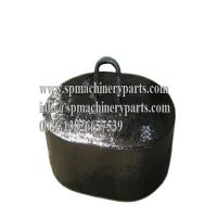 Buy cheap Manufactured From Strong Durable New Design Navigation Mooring Grey Iron Cast Block weight 1000KG from wholesalers