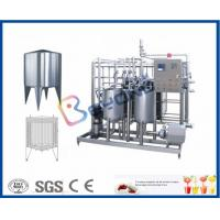 Buy cheap Plate Type Small Scale Pasteurization Equipment , Yoghurt Dairy Milking Equipment from wholesalers