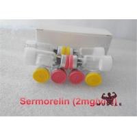 Buy cheap 2MG / Vial Sermorelin Acetate Cas 86168-78-7 White Lyophilized Powder from wholesalers