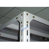 Buy cheap Light Duty Long Span Shelving Slotted Angle Type For Small Products Storage from wholesalers